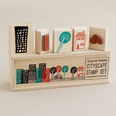 cityscape stamps