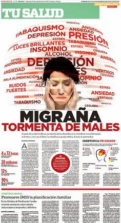Migraña: Tormenta de males