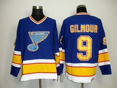 CCM St. Louis Blues 9 Doug GILMOUR ThrowBack Jersey