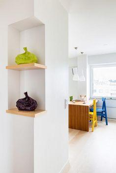 #AppartementParisien #PiedàTerre #Trucs&Astuces #amenagement #petit appartement#un petit espace  pensé avec génie #Petit Appart