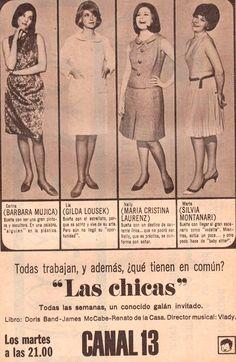 Publicidad de CANAL 13, 1965.