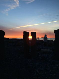 The vernal equinox, will be celebrated at 7 a.m. March 20 at Beach Bluff Park in Marblehead, Mass. The sun will rise over the sea at 7:09 a.m. and, if the weather is right, when attendees stand on the center dais, the sun will be seen rising between the pair of columns. The paired basalt columns have been installed so that when the sun rises on the equinox, semiannually, it shines directly through the oval space formed by these two columns.