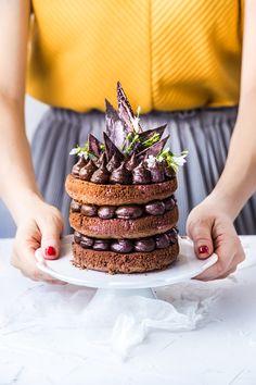 Tort czekoladowy - Naked Cake