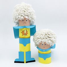 10 PLAYFUL PAPER TUBE CHARACTERS TO MAKE