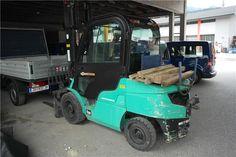 Karner & Dechow Industrie Auktionen - 4-Rad-Diesel-Gabelstapler Mitsubishi BFD35N EF14E-51117, Gesamtgewicht: 5.340 kg, abgel. Betriebsstd.: 5.506, Baujahr: 2 - Postendetails
