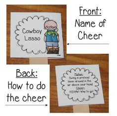 I was never a cheerleader in high school, but I get to be one EVERY DAY in the lives of my students with these fun Classroom Cheers!