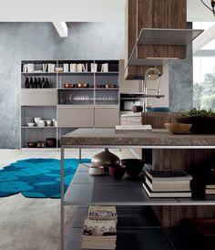 Inside kitchen deco