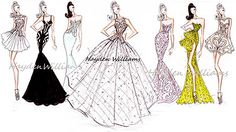 Hayden Williams Fashion Illustrations: Hayden Williams Haute Couture Spring-Summer 2012 Full Collection
