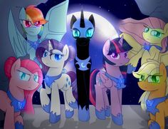 Ponies of the night