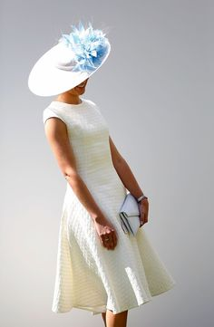 Pin for Later: Racing Fans Saved Their Best Hats For Glorious Goodwood The Qatar Goodwood Festival