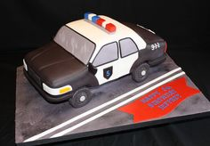 police car cakes pictures | Police Car Cake - Specialty Cakes by Petrina, LLC