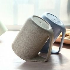 Mugs that can be propped up on their handles for easy drying. | 31 Awesome And Inexpensive Things You Need For Your Kitchen
