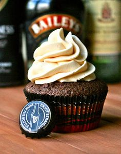 Irish Carbomb Cupcakes by See Brooke Cook