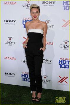 Celeb Diary: Miley Cyrus @ 2013 Maxim Hot 100 Party