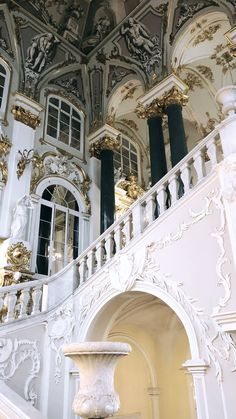 Jordan Staircase of the Winter Palace, St Petersburg, Russia