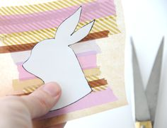 DIY: Masking Tape Stickers - Easter Edition - Home - Creature Comforts - daily inspiration, style, diy projects + freebies