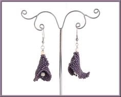 Calla Lily Lariat and Earrings Beading Pattern Earrings