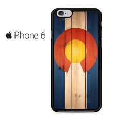 Colorado State Flag Iphone 6 Iphone 6S Case