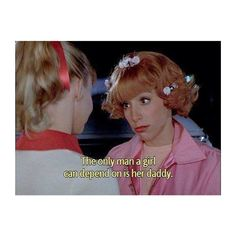 Well said, Frenchy  #grease #movie #quote
