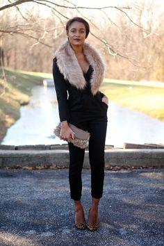 Black, leopard & faux fur via The Daileigh: 2013, The Final Walk