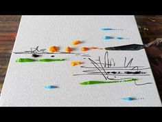 Cool Landscape Painting Demo / Abstract in Acrylics / Satisfying / Daily Art Therapy / Day Abstract Tree Painting, Abstract Painting Techniques, Acrylic Painting Techniques, Abstract Canvas Art, Painting & Drawing, Easy Landscape Paintings, Canvas Painting Landscape, Cool Landscapes, Acrylic Painting Canvas
