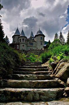 Castello Savoia, Gressoney Saint Jean, Valle d'Aosta, Italy