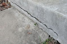 How to fix cracks in concrete with Quikrete FastSet Repair Mortar or if there is any chance of movement in the ground with Quikrete Polyurethane Concrete Crack Sealant