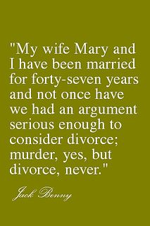 Damn straight! Hahaha! Real marriage!