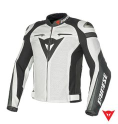 Dainese Leather Jacket Super Speed C2 Estivo Pelle - front Motorcycle Wear 2a8552b94d2