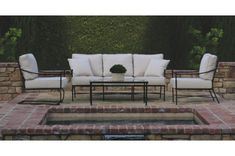 The Sunset West Provence Collection features wrought iron outdoor luxury patio furniture in century pewter finish. Outdoor Living Furniture, Outdoor Sofa, Outdoor Decor, Outdoor Seating, Sunset West, Coffee Table Dimensions, Decorative Trim, This Is Us Quotes, Classic Collection