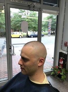 Bald Haircut, Bald Fade, Short Cuts, Haircuts For Men, Barber, Hair Cuts, Military, Haircuts, Shaved Heads