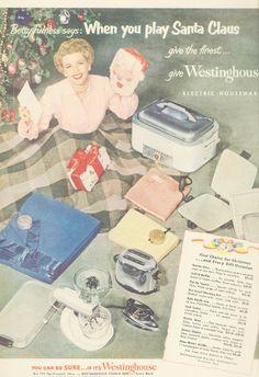 vintage christmas ad