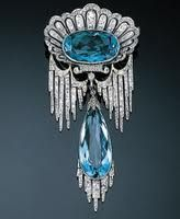 Chaumet Blue Diamond brooch . . . Breathless!!!