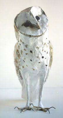 L'atelier d'Anne-Lise Koehler: Effraie des clochers (Tyto alba)