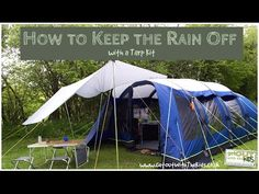 Worried about camping in the rain? Don't be. Learn to build a tarp shelter with our instructions.