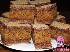 Austrian Recipes, Hungarian Recipes, Condensed Milk Cake, Hungarian Cake, Cake Bars, Waffle Iron, Nutella, Banana Bread, Cake Recipes