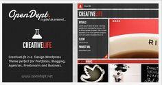 Премиум шаблон для WordPress Creative Life