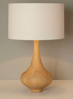 Asa wooden table lamp