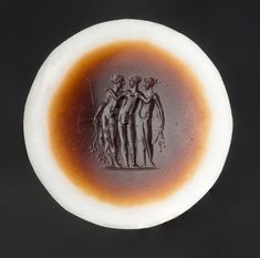 Round gem with the three Graces   Museum of Fine Arts, Boston. 1st c. AD. Onyx.
