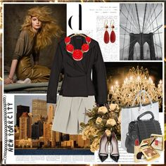 """""""NEW YORK CITY"""" by k-hearts-a on Polyvore"""