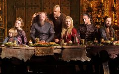 History'sVikings is returning Feb. 18, but for fans who can't wait,EW is excited to share an exclusive look at the new season: A Last Supper...