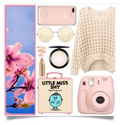 """Better Blossoms"" by racanoki ❤ liked on Polyvore featuring Olympia Le-Tan, Fujifilm, Victoria Beckham, MAC Cosmetics and RaCaNoKi"