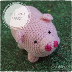This little piggy went to market, this little piggy stayed home and crocheted. This little piggy hasn't really had much inspiration lately and totally let the blog slide. I've made a few thin...