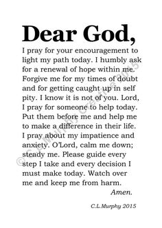 65 Ideas for quotes god strength encouragement spiritual inspiration Prayer Scriptures, Bible Prayers, Faith Prayer, God Prayer, Prayer Quotes, Spiritual Quotes, Bible Quotes, Positive Quotes, Grateful Prayer
