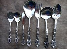 Oneida chandelier stainless steel betty crocker flatware from 7 pieces oneida community stainless chandelier serving pieces ladle spoons aloadofball Images
