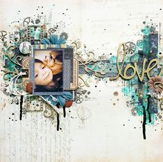 2 Crafty Chipboard : August Layouts PLUS a VIDEO By Valérie Ouellet