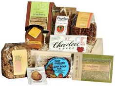 Colorado organic treats with nuts and fruit preserves.