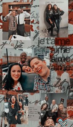 Tumblr Wallpaper, Wallpaper S, Series Movies, Tv Series, Watch Brooklyn Nine Nine, Charles Boyle, Jake Peralta, Jake And Amy, Galaxy Painting
