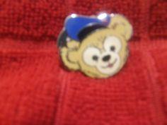 DUFFY BEAR Disney Pin CAST HIDDEN MICKEY 2012 POLICE Hat