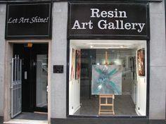 Resin Art Gallery 84 High Street, Arbroath Tel: 874841 www. Art Gallery Uk, Fantastic Art, Amazing, Resin Art, Projects To Try, Arts And Crafts, Street, Facebook, Dark